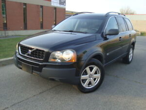 2004 VOLVO XC 90 2.5L TURBO AWD 7 PASSENGER''TAX INCLUDED