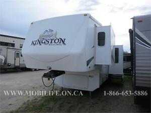 *PRE-OWNED FIFTH WHEEL**COUPLES UNIT!*GREAT SHAPE!*CROSSROADS*