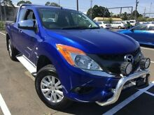 2015 Mazda BT-50 MY13 XTR (4x4) Blue 6 Speed Manual Freestyle Utility Unanderra Wollongong Area Preview