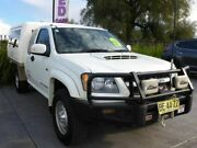 2009 Holden Colorado RC LX Space Cab White 5 Speed Manual Cab Chassis Singleton Singleton Area Preview