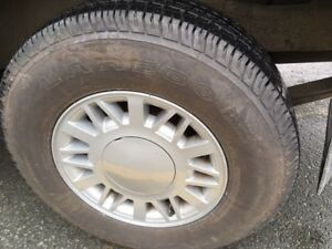 CHEVY S-10 GMC JIMMY SONOMA BLAZER ALLOY RIMS AND TIRES FOR SALE