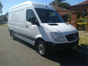 2011 Mercedes-Benz Sprinter NCV3 MY11 313CDI High Roof LWB White 5 Speed Automatic Van Lidcombe Auburn Area Preview