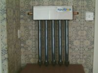 Solar Thermal hot water panel £20 with 5 evacuated tubes