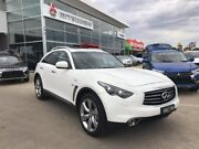 2014 Infiniti QX70 S51 S Premium White 7 Speed Sports Automatic Wagon Hoppers Crossing Wyndham Area Preview