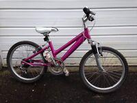Girls bike - pink - Revolution Cloudburst - suit 6-8 year old