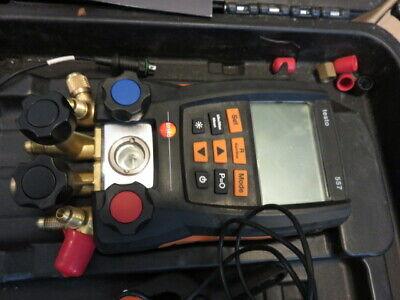 V13 Testo 557 Digital Manifold Kit With Bluetooth - 05631557 100 Guaranteed