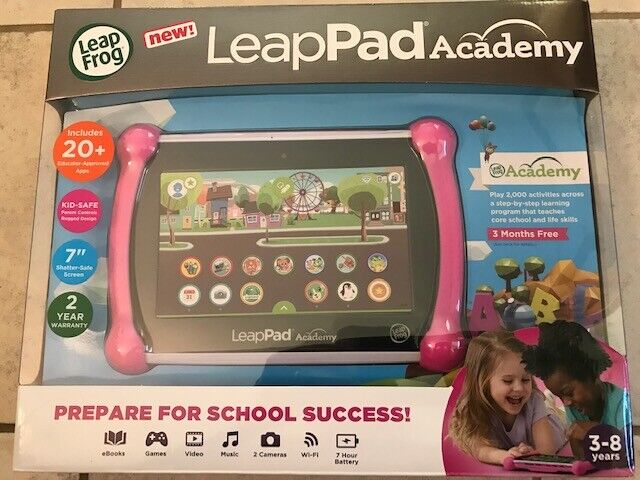 LEAPFROG LEAPPAD ACADEMY LEARNING TABLET READY FOR SCHOOL PI