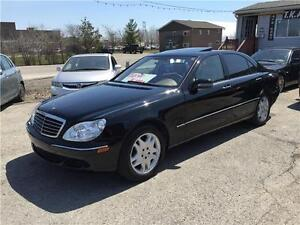 2003 MERCEDES S500 AUTO NAV LEATHER SUNROOF CERTIFIED&E-TEST