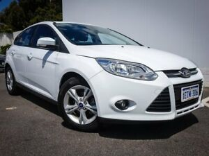 2015 Ford Focus LZ Trend White 6 Speed Automatic Hatchback Maddington Gosnells Area Preview