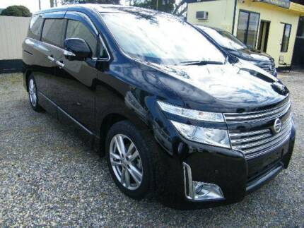 2010 Nissan Elgrand (#2940) Black with full leather seats. Moorabbin Kingston Area Preview