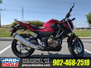 SAVE BIG 2017 Honda CB300F NOW ONLY $3,999!!!