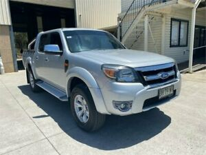 2010 Ford Ranger PK XLT Crew Cab Silver 5 Speed Automatic Double Cab Pick Up