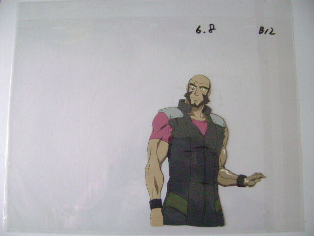 COWBOY BEBOP JET ANIME PRODUCTION CEL 6