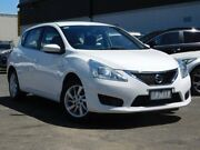 2015 Nissan Pulsar C12 Series 2 ST White 1 Speed Constant Variable Hatchback Fawkner Moreland Area Preview