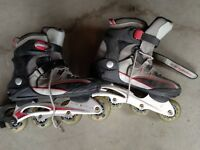 Ladies & Men's Roller Blades - Size 8 and 9