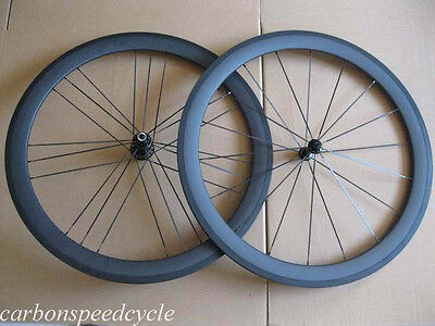 Csc G3 Pattern Carbon Wheels 50Mm Clincher Carbon Bicycle Road Wheels 1490G Only