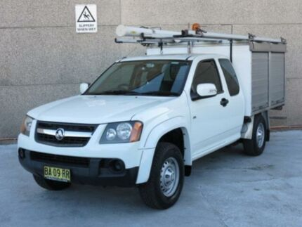 2008 Holden Colorado RC MY09 LX (4x2) White 4 SP AUTOMATIC Spacecab Revesby Bankstown Area Preview