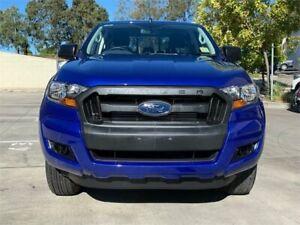 2015 Ford Ranger PX MkII XL Double Cab 4x2 Hi-Rider Aurora Blue 6 Speed Sports Automatic Utility