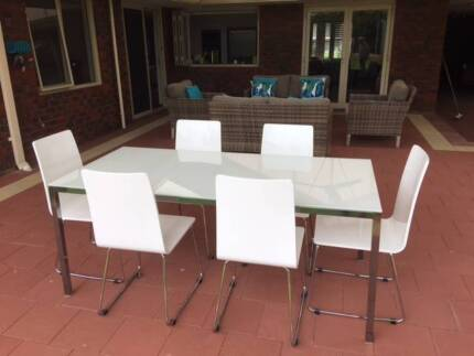 Glass Dining Table In Perth Region WA