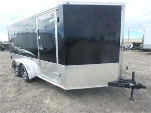 -*-NEW-*- 7 X 17 Enclosed Motorcycle Hauler -*-SCREWLESS EXT.-*-