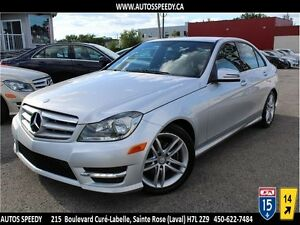 2012 MERCEDES C250 4MATIC CUIR/TOIT/BLUETOOTH/CLEAN CARPROOF