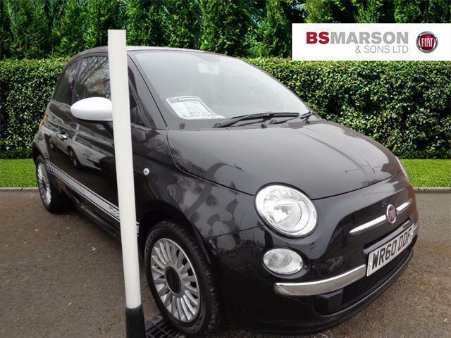 2010 fiat 500 lounge dualogic petrol black semi auto in newcastle under lyme staffordshire. Black Bedroom Furniture Sets. Home Design Ideas