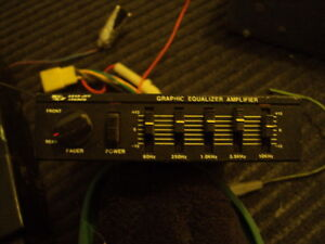 Auto, Car, Cassette, 8 Track Player, Graphic Equalizer,Old Radio Strathcona County Edmonton Area image 3