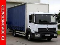 2014 Mercedes-Benz Atego 816 Diesel white Automatic