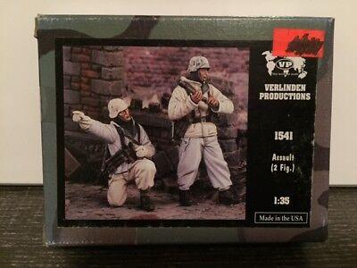 VERLINDEN Productions Assault 2 Figures 1:35 Scale 1541
