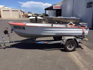 3.65m Painted Dinghy with 15hp Evinrude for sale Grafton Clarence Valley Preview