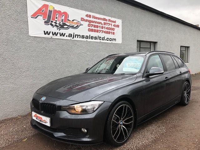 2014 BMW 3 SERIES 20 320D EFFICIENTDYNAMICS BUSINESS TOURING 5D 161 BHP DIES