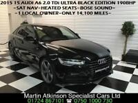 2015 15 Audi A6 2.0 TDi Ultra Black Edition 190BHP Saloon~1 LOCAL OWNER~