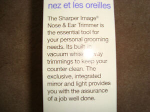 """THE SHARPER IMAGE NOSE&EAR TRIMMER """"""""NEW"""" West Island Greater Montréal image 5"""