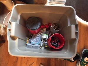 A mixed container of stuff