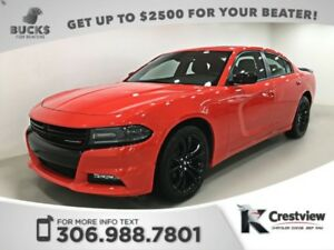 2017 Dodge Charger SXT Rallye Blacktop | Sunroof | PRACTICALLY N