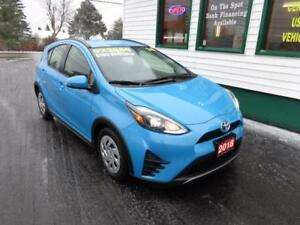 2018 Toyota Prius C for only $188 bi-weekly all in!