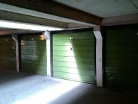 Dry, secure, garage for parking or storage