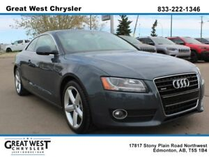 2010 Audi A5 LOW KMS * SUNROOF * BANG AND OLUFSEN SOUND SYSTEM