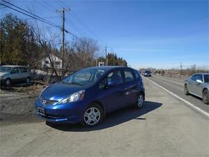 2012 Honda Fit LX-ONE OWNER-ONLY 58,000 KM-LIKE NEW!