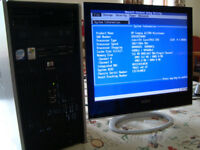 HEWLETT PACKARD MICROTOWER BUSINESS RELEASE COMPUTER dc 5700 64 bit machine with sp#404794-001 HP mb