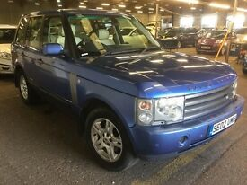 2002 LAND ROVER RANGE ROVER 4.4 LPG PETROL AUTOMATIC JEEP 4X4 LONG MOT LUXURY NOT X5 FREELANDER