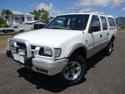 1999 Holden Rodeo TFG6 LX (4x4) White 5 Speed Manual 4x4 Crewcab Bungalow Cairns City Preview