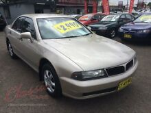 1997 Mitsubishi Magna TF Altera Gold 4 Speed Automatic Sedan Lansvale Liverpool Area Preview