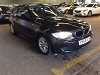 2010 BMW 116D 2.0 116 ES 3 DOOR HATCHBACK DIESEL MANUAL MOT NICE DRIVE 5 SEATS £30 YEAR TAX NOT MINI