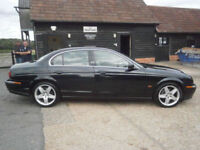 0252 JAGUAR S-TYPE 3.0 V6 SE AUTOMATIC 4DR 133K SPARES OR REPAIR DRIVES WELL