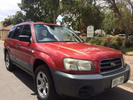 2004 Subaru Forester MY04 X 4 Speed Automatic Wagon Clarence Gardens Mitcham Area Preview