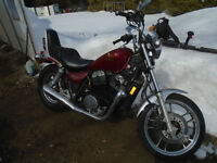 HONDA SHADOW 750 1984 23000 KM original .