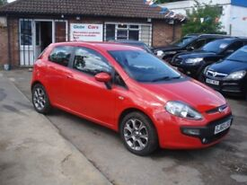 Fiat PUNTO EVO 1.4 8v GP (s/s) 3dr, 2010 model, Full MOT, Clean in & out