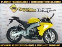 2017 17 APRILIA RS4 125CC, 0% DEPOSIT FINANCE AVAILABLE