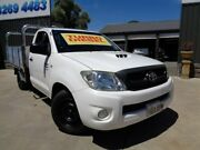 2010 Toyota Hilux KUN16R MY10 SR 4x2 White 5 Speed Manual Cab Chassis Enfield Port Adelaide Area Preview